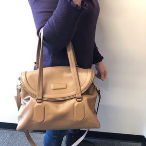Marc Jacobs Camel Leather Bag